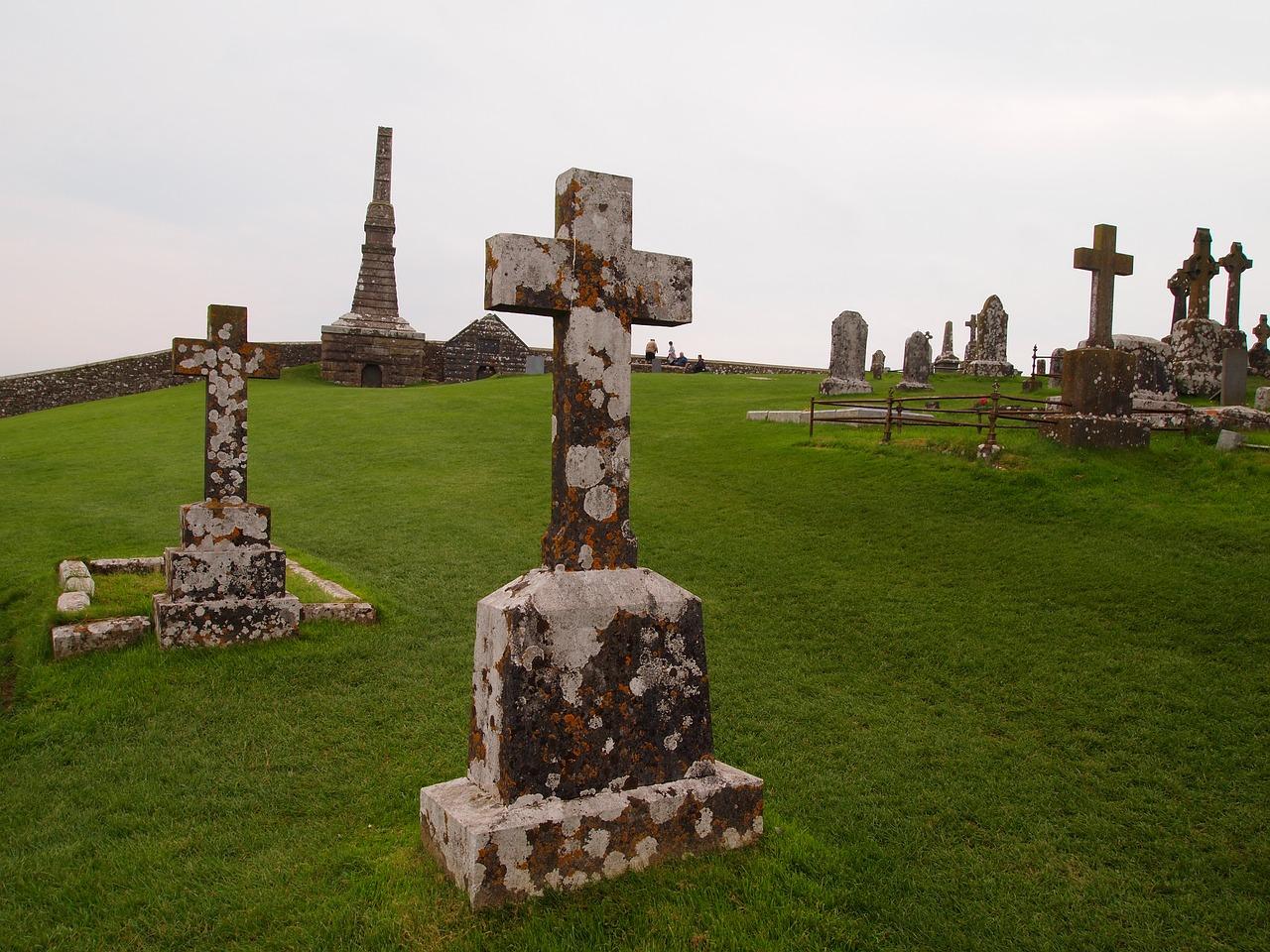cmentarz w anglii