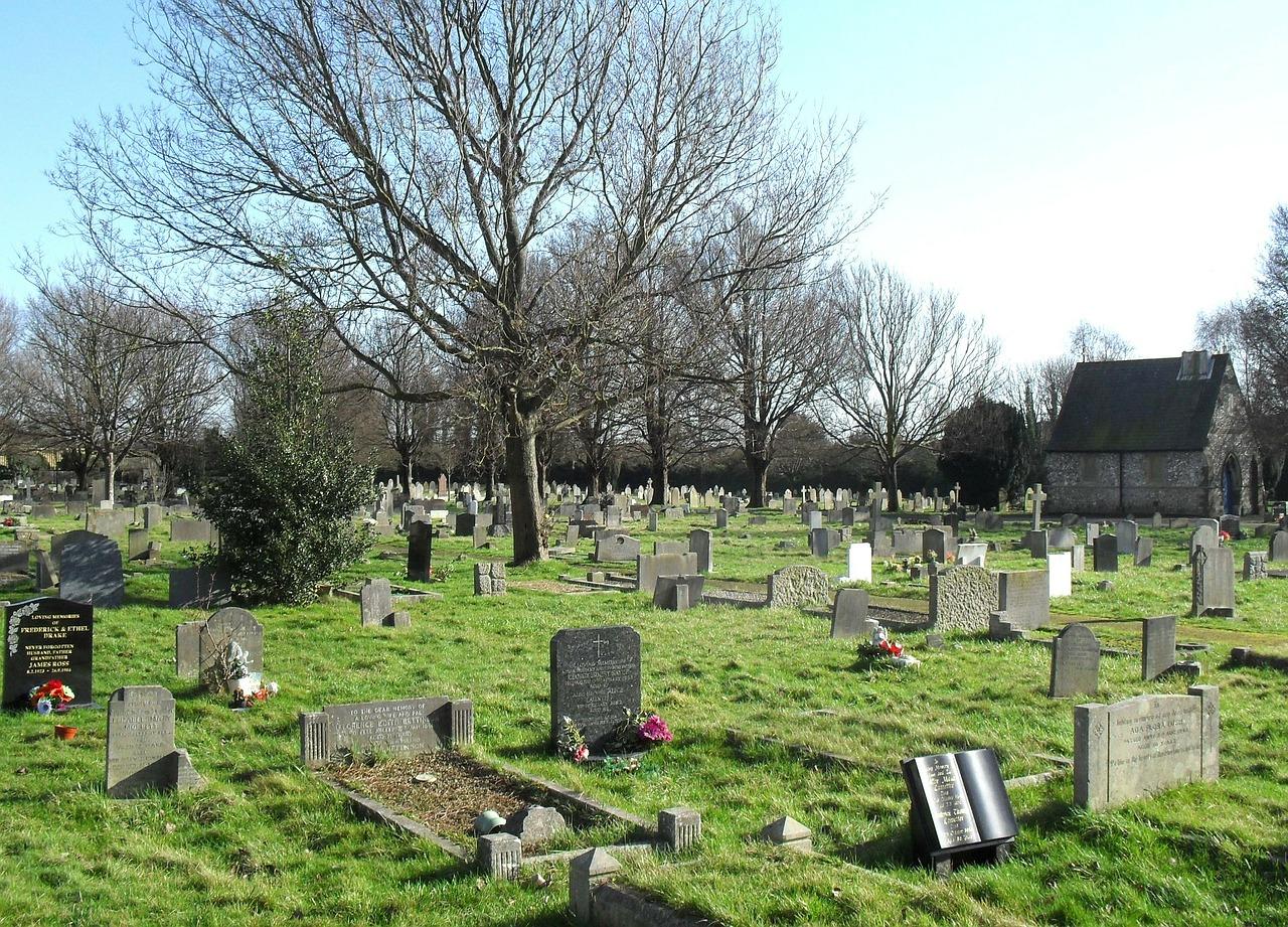 usługi pogrzebowe anglia